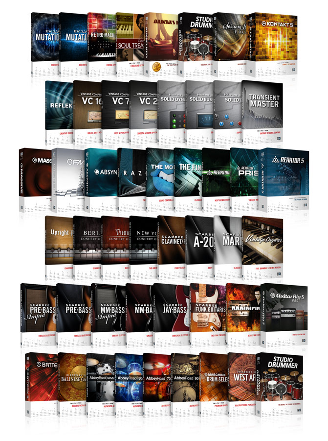 Native Instruments Komplete 8 Ultimate Screenshots