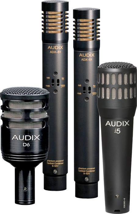 Audix DP-Quad Mics