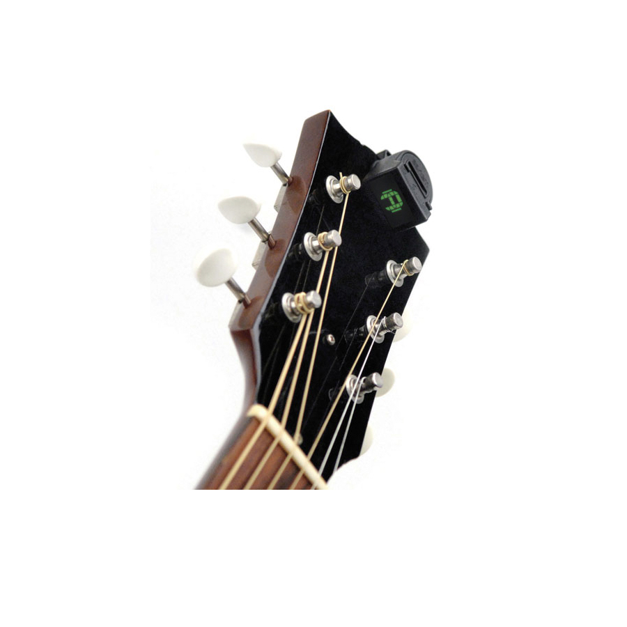 Planet Waves NS Mini Headstock Tuner 2-Pack Front Of Headstock