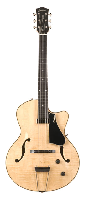 Godin 5th Avenue Jazz Natural Flame