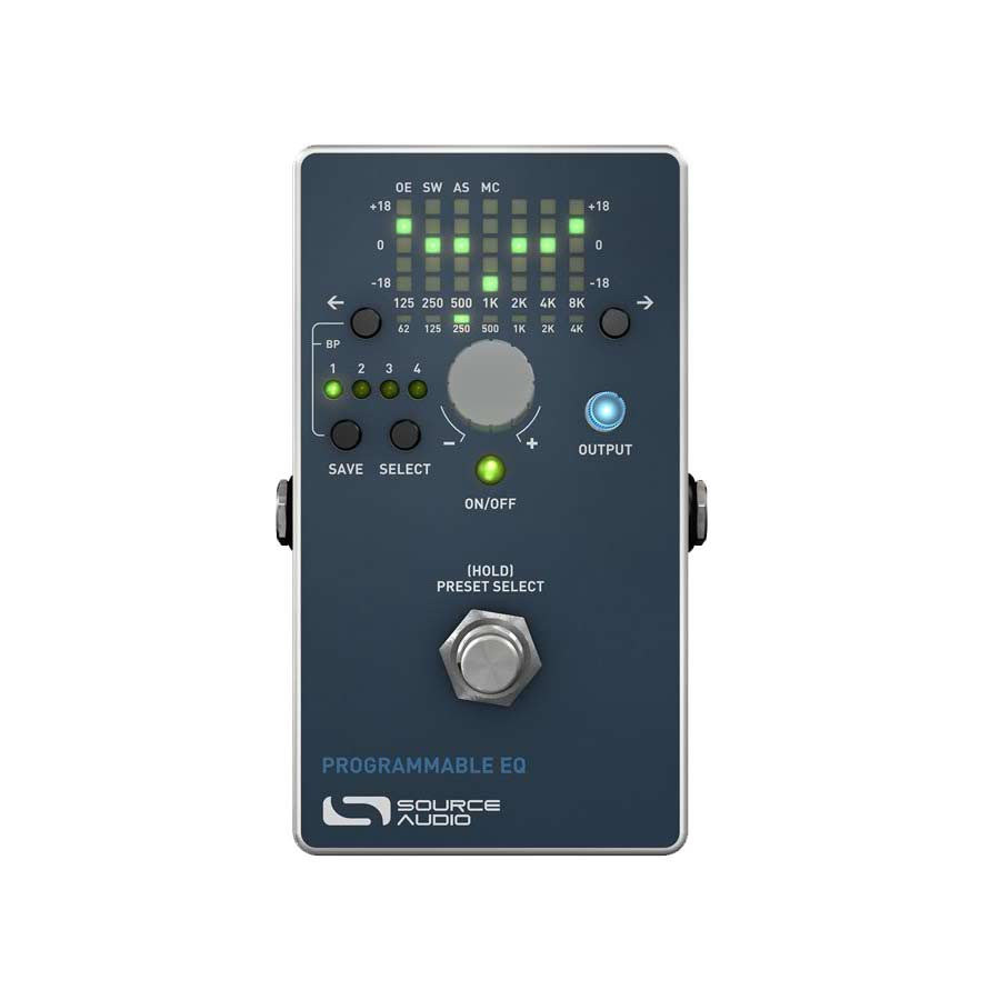 Source Audio Programmable EQ Top View