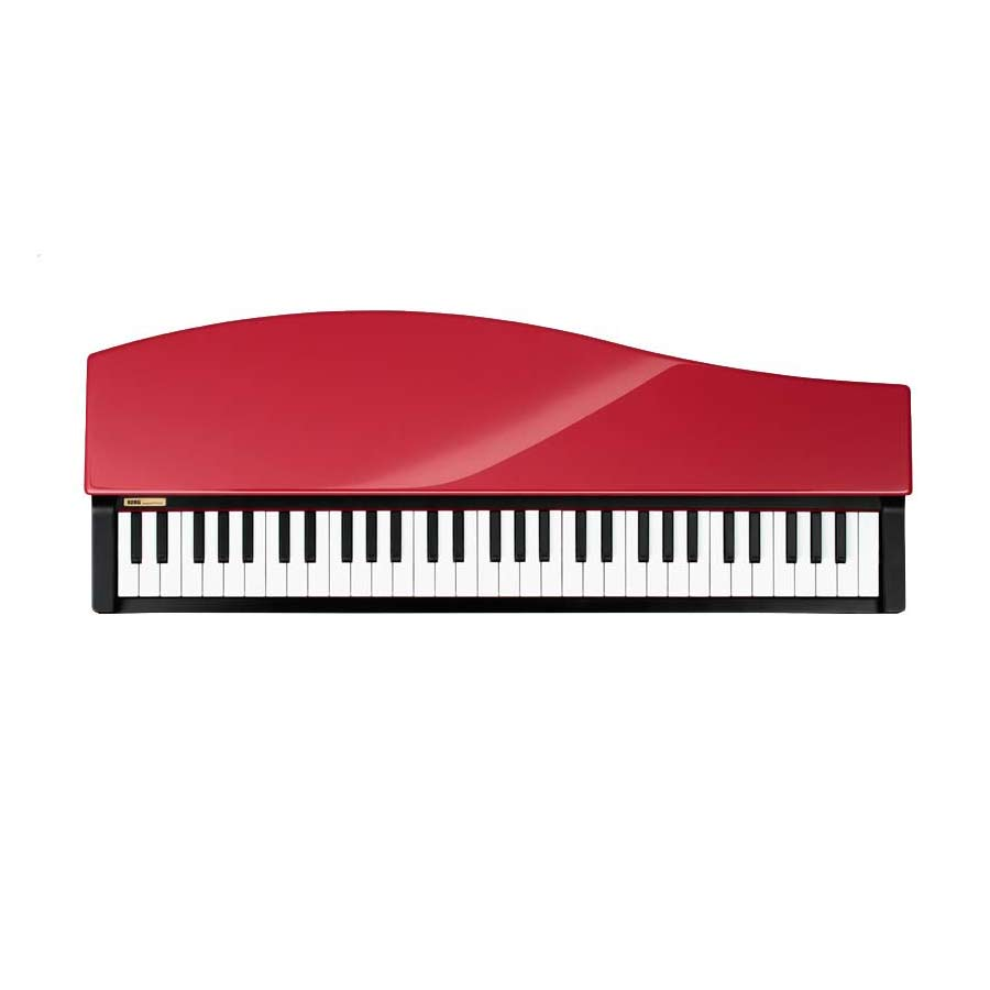 Korg microPiano - Red Refurbished Top View