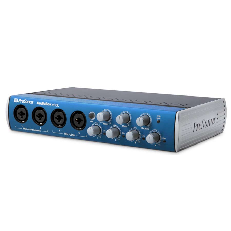 Presonus AudioBox 44VSL Angled View