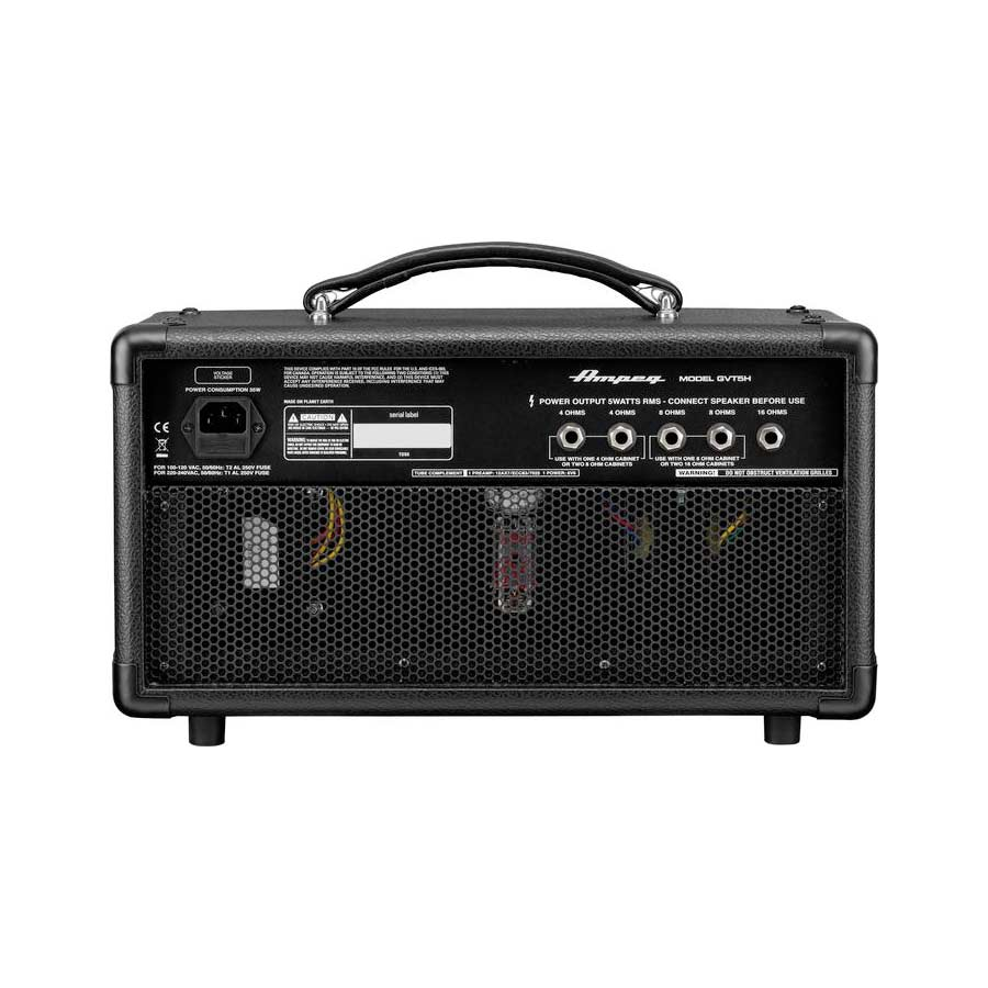 Ampeg GVT5H Rear View