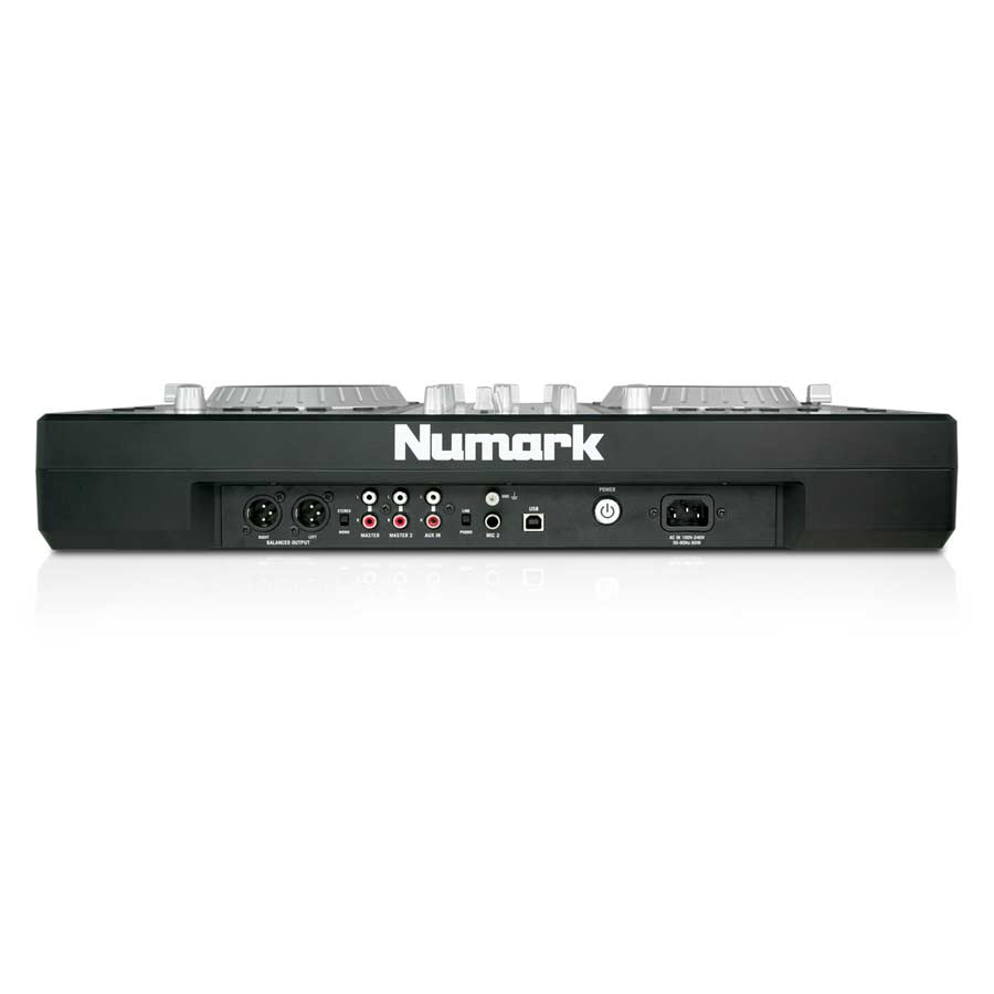 Numark MixDeck Express Rear View