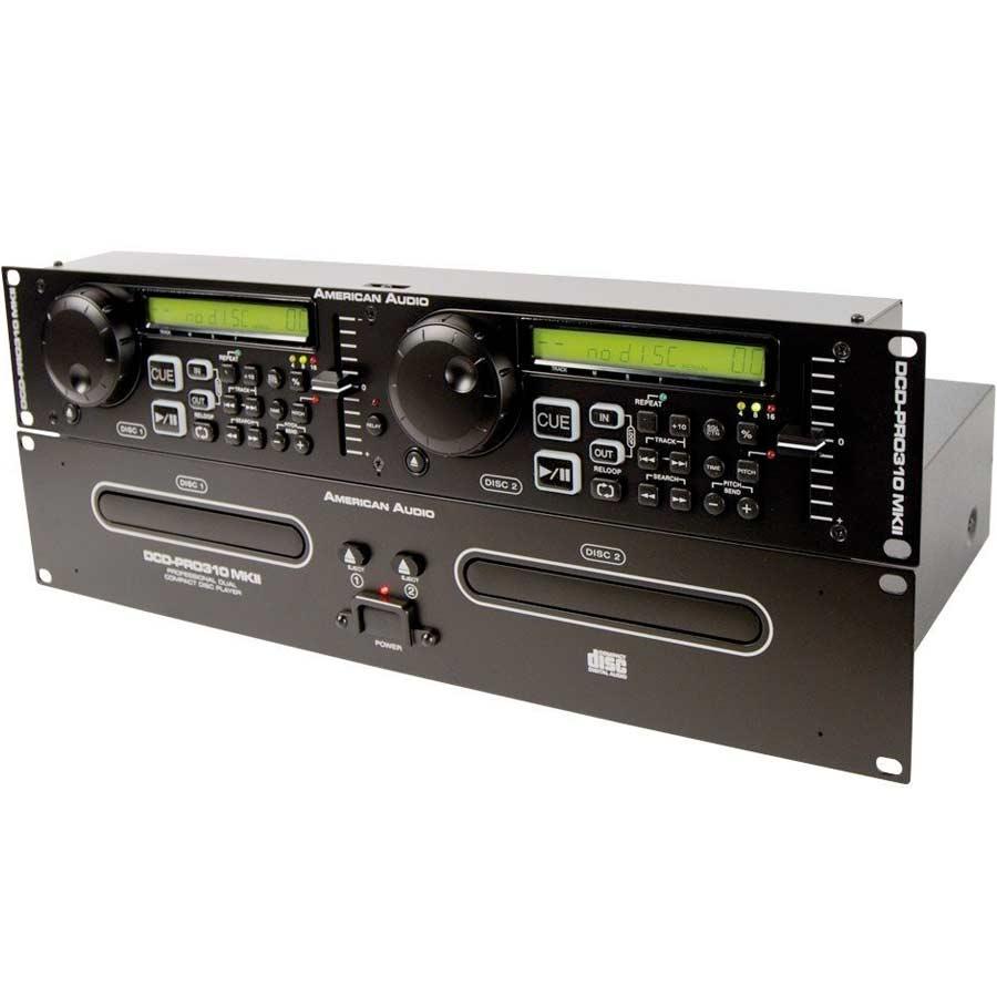 American Audio DCD-Pro 310 MKIIAngled View