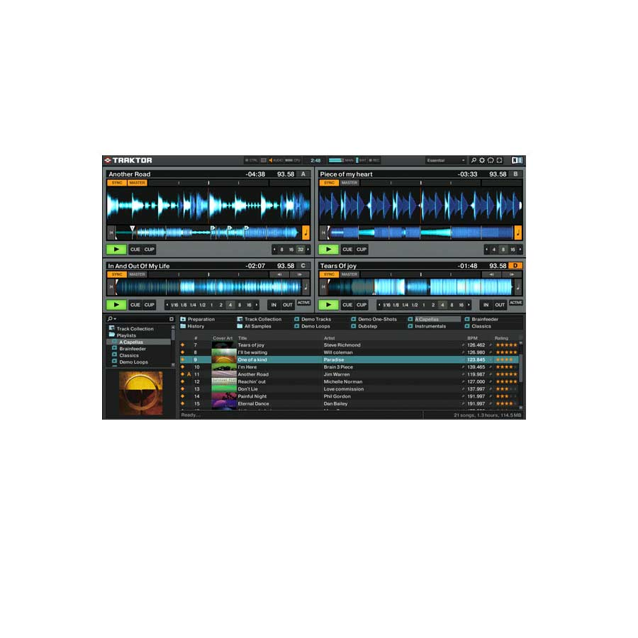 Pioneer DDJ-T1 Screen Shot