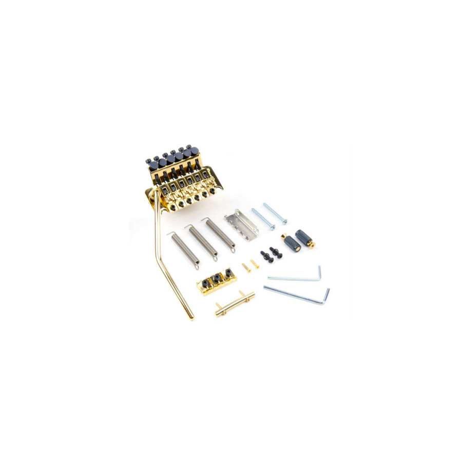 Floyd Rose FRT-100/R2 Chrome Kit Shown in Gold