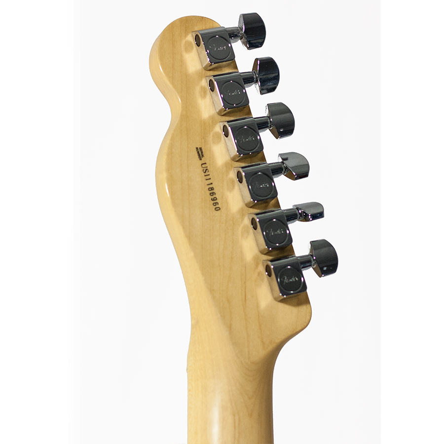 Fender 60th Anniversary Cabronita 2011 Tele-Bration Telecaster Black Blemished Rear Headstock