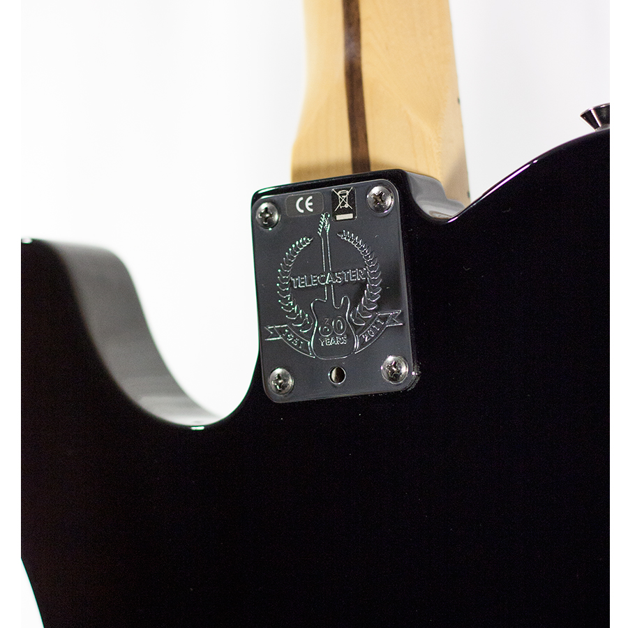 Fender 60th Anniversary Cabronita 2011 Tele-Bration Telecaster Black Blemished Backplate