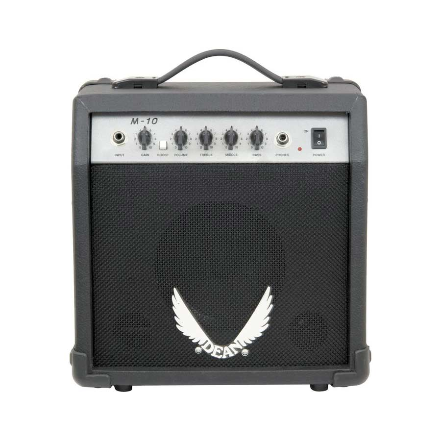 Dean ML XM Shredder Transparent Black Amp