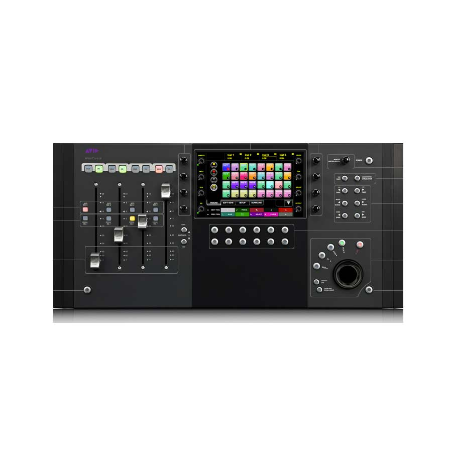 Avid Artist ControlTop View