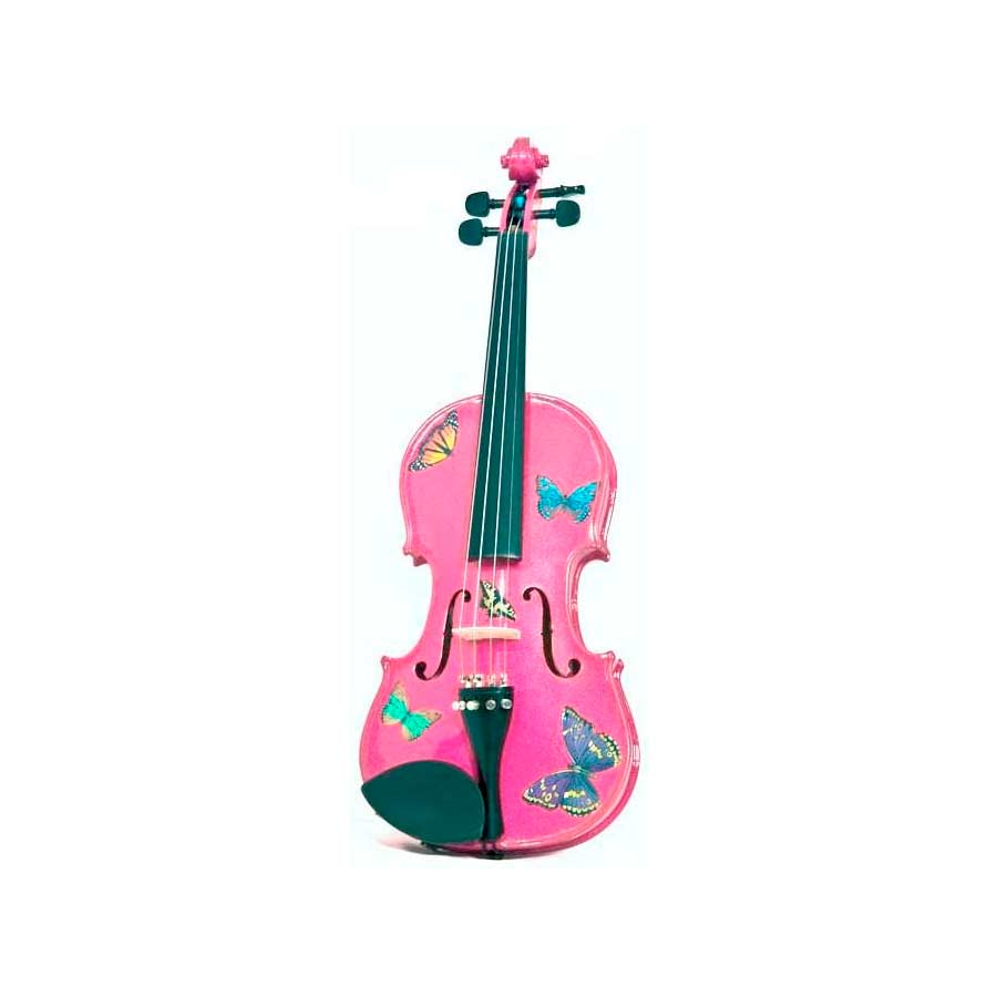 Butterfly Dream Fuchsia Violin Outfit 4/4