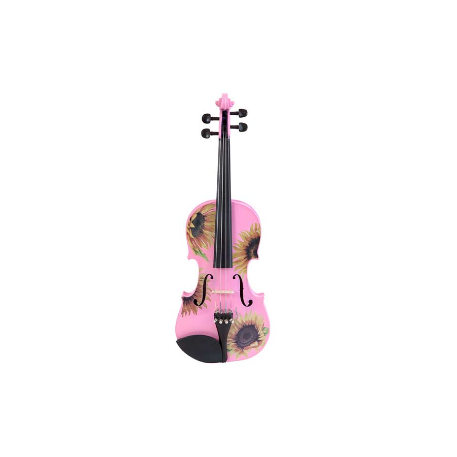 Sunflower Delight Pretty Pink Violin Outfit 3/4