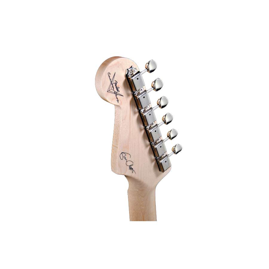 Fender Eric Clapton Signature Stratocaster® Black Headstock Detail