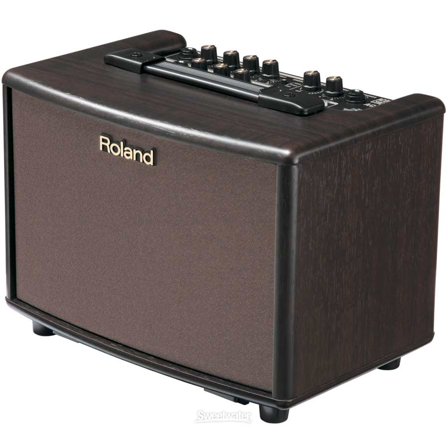 Roland AC-33 RW  Rosewood Angled View