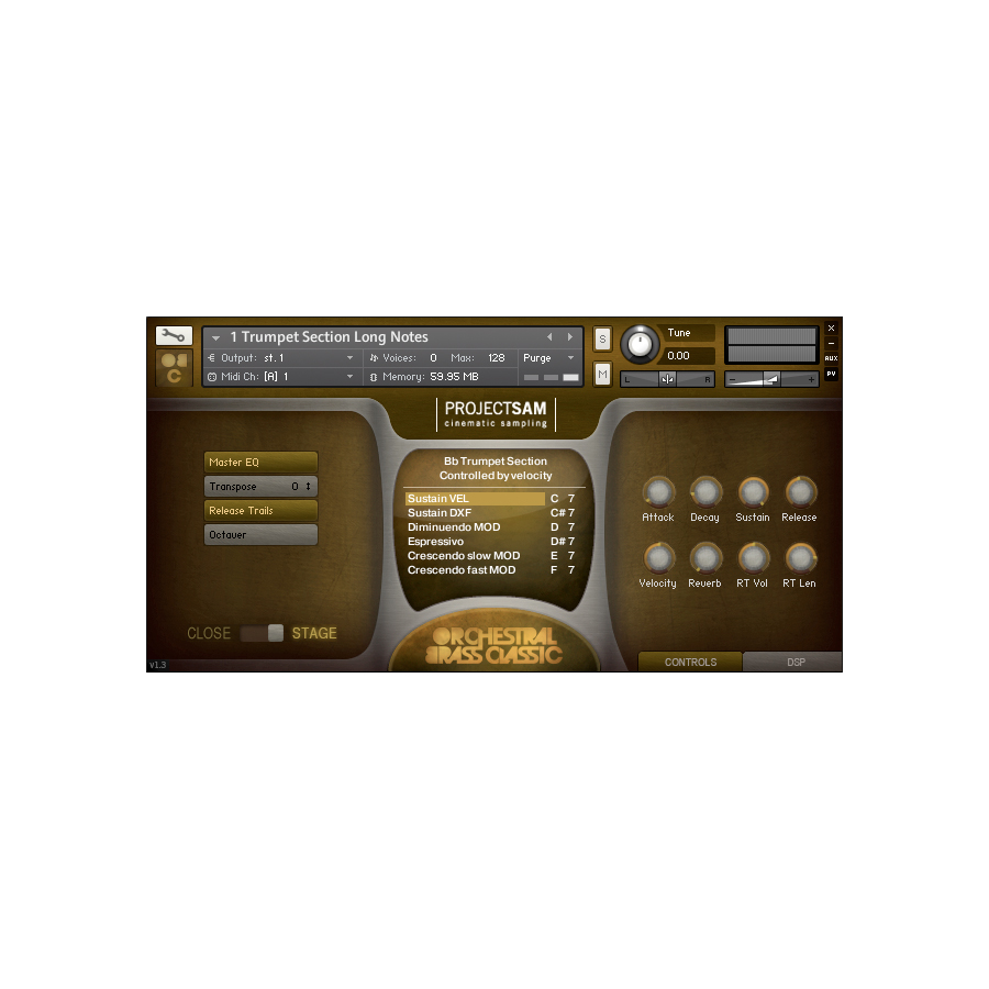 ProjectSAM Orchestral Brass Classic Screenshot 1