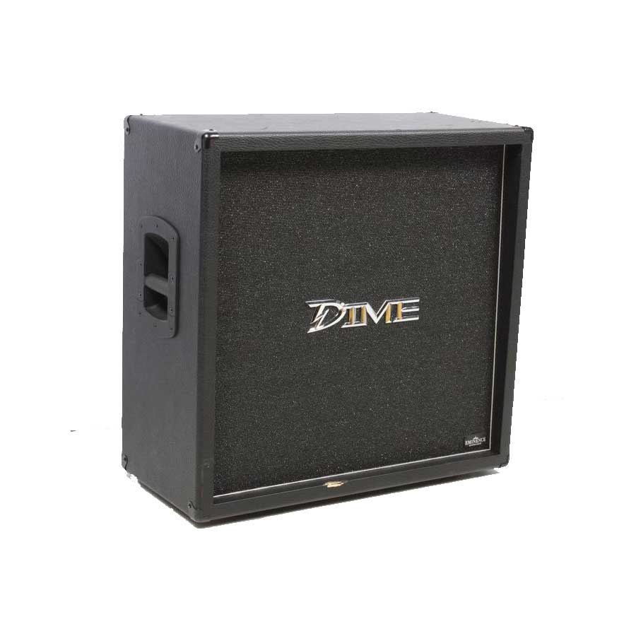 Dime Amplification Dimebag 412 Straight Cabinet Black Angled View
