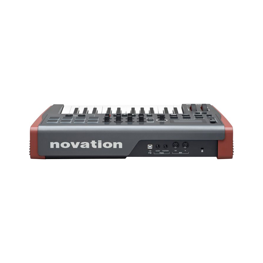 Novation Impulse 25 Rear View