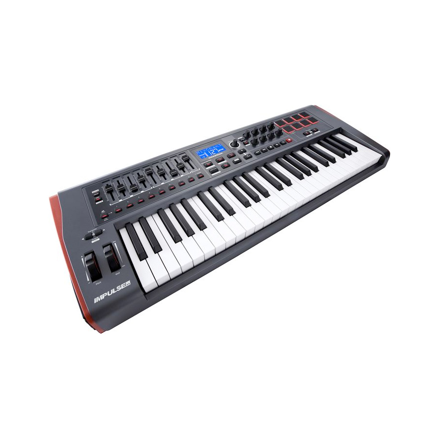 Novation Impulse 49 Angled View