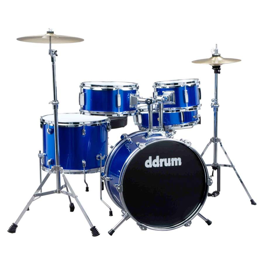 D1 Junior Drum Set - Police Blue
