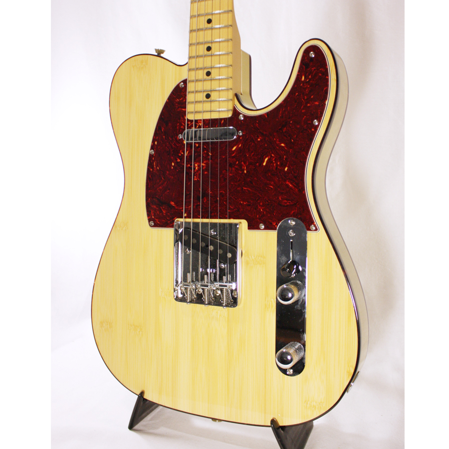 Fender 60th Anniversary Lamboo Telecaster Natural Body Detail