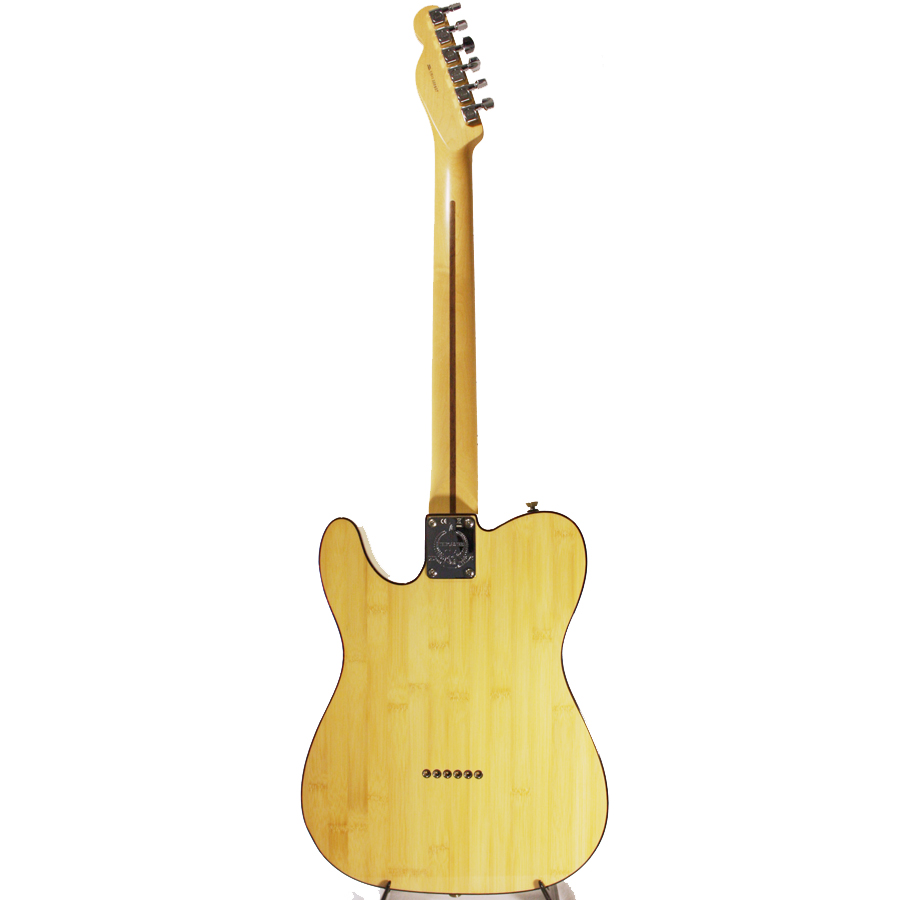 Fender 60th Anniversary Lamboo Telecaster Natural Rear View