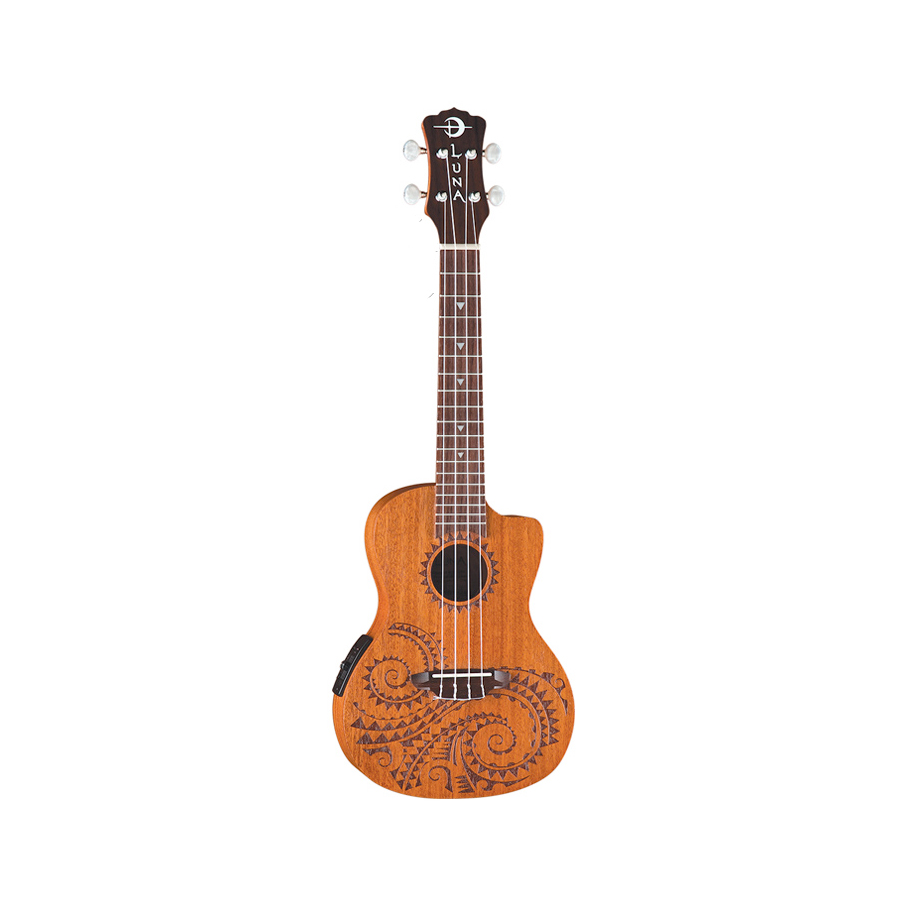 Tattoo Concert Acoustic-Electric Ukulele