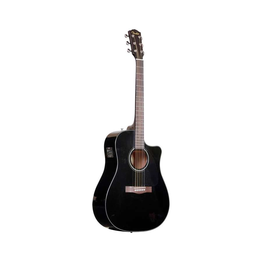 Fender CD-60CE Black Left Side