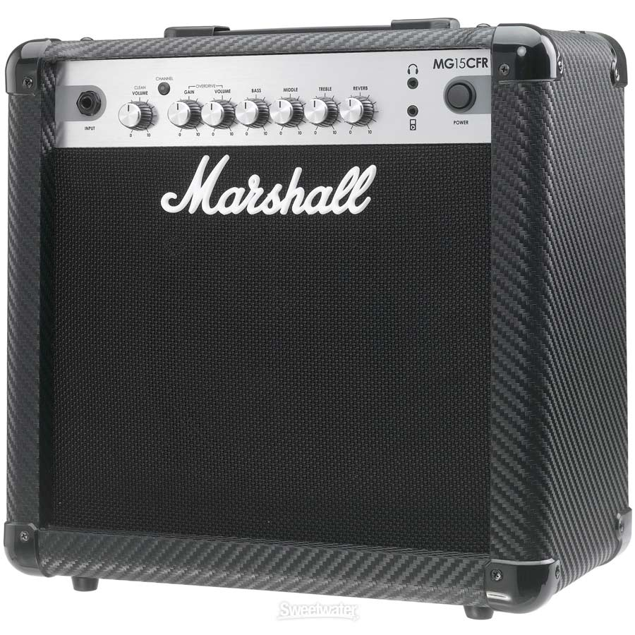 Marshall MG15CFR Angled View