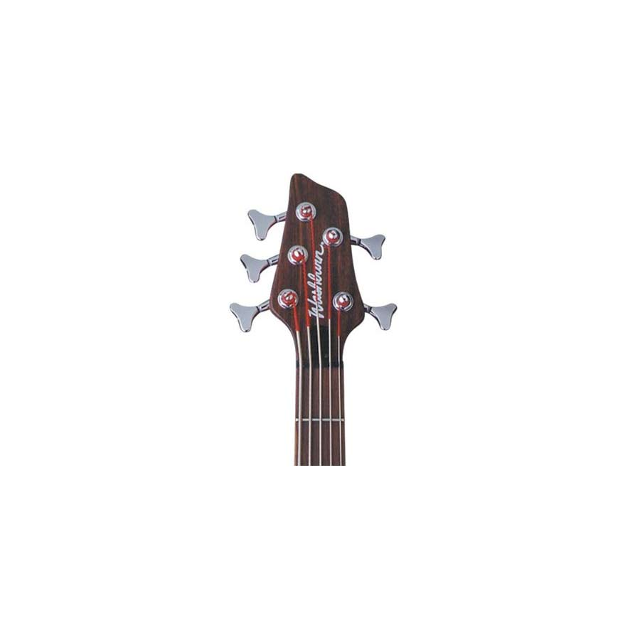 Washburn T25NMK Natural Matte Headstock Detail