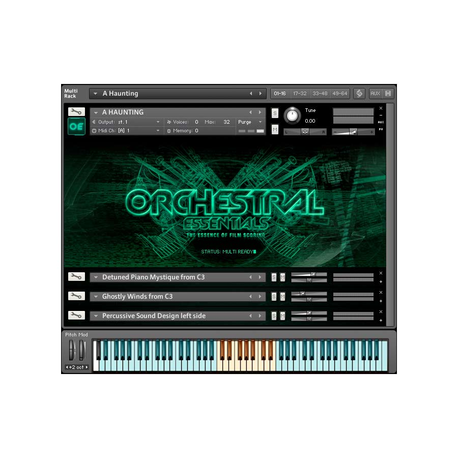 ProjectSAM Orchestral Essentials Screenshot