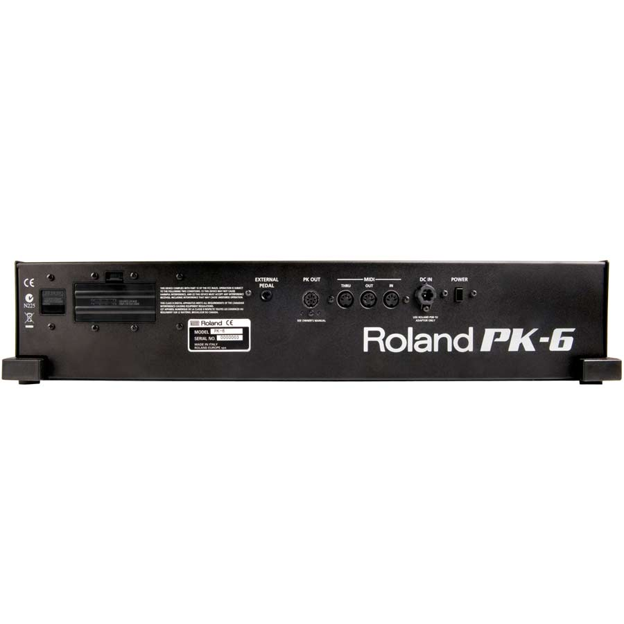 Roland PK-6 Rear View