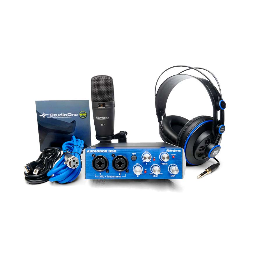 Presonus AudioBox Studio Recording Bundle Large View