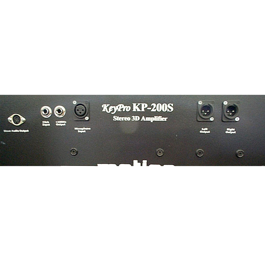 Motion Sound KP-200S Rear Panel