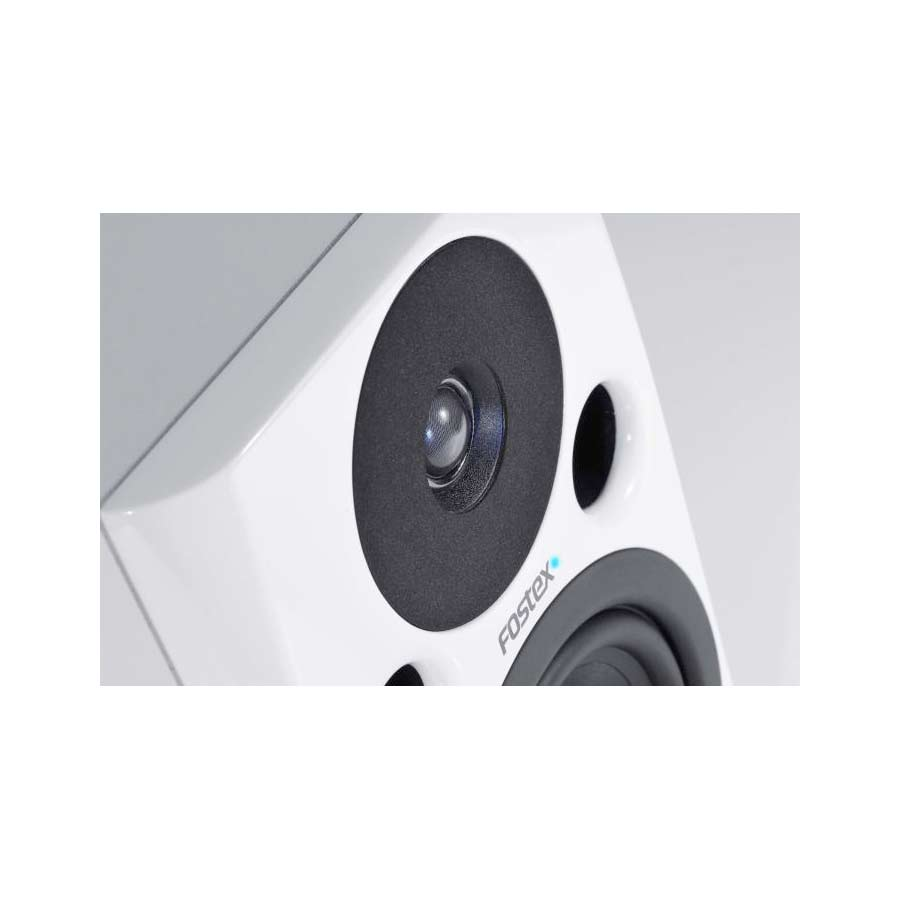 Fostex PM0.5 Pair White Angled View