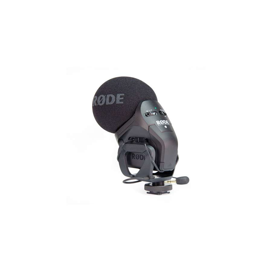Rode Stereo VideoMic Pro Rear View