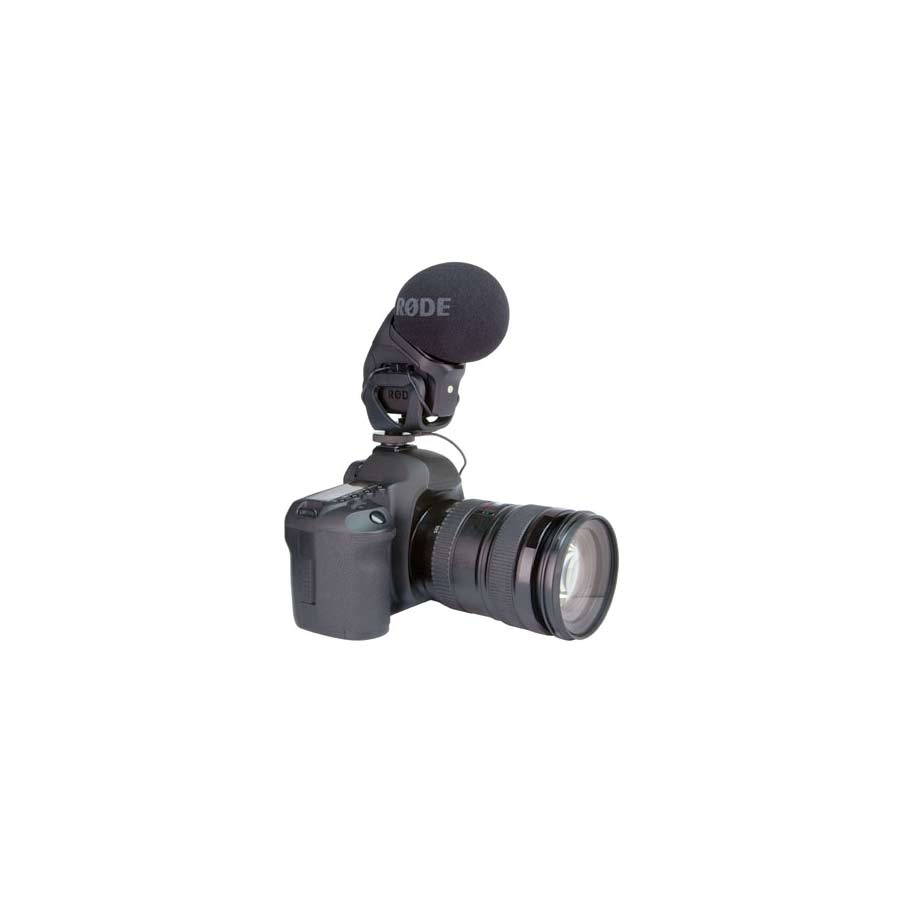 Rode Stereo VideoMic Pro On Camera