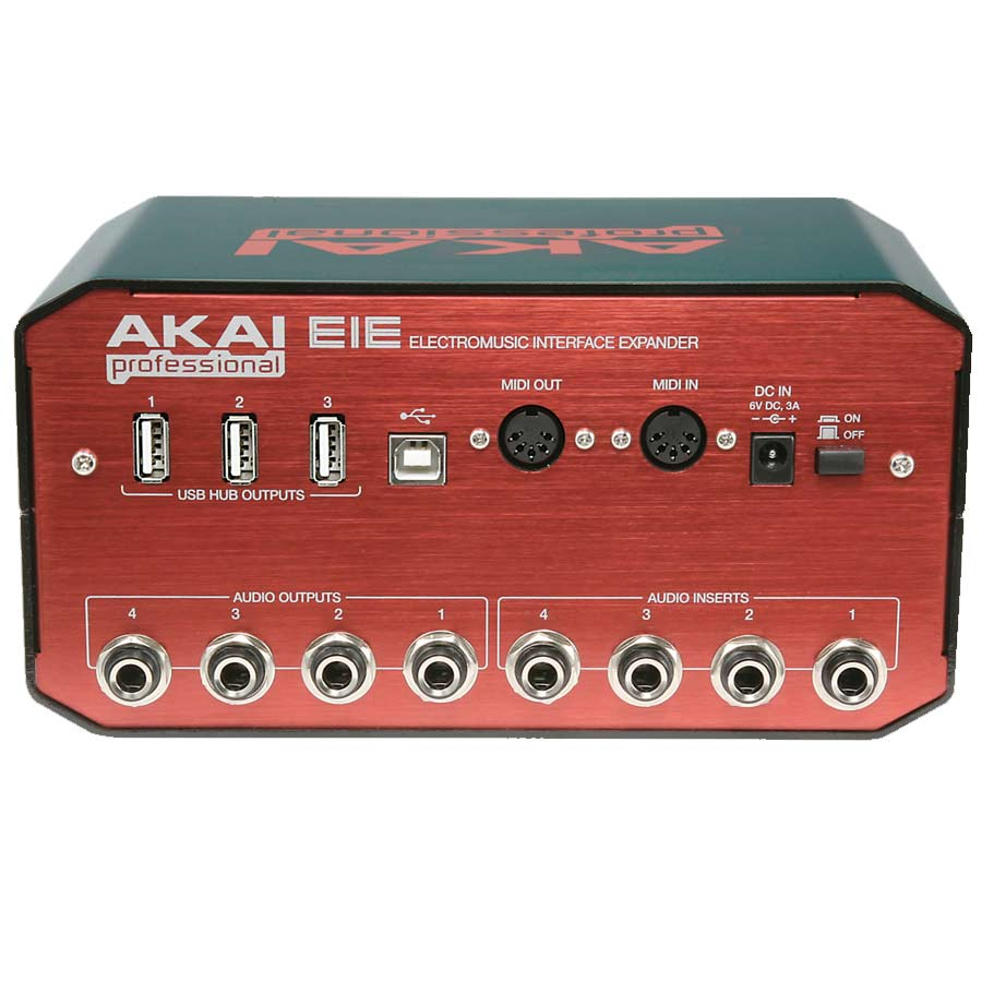 Akai EIE I/O Rear View