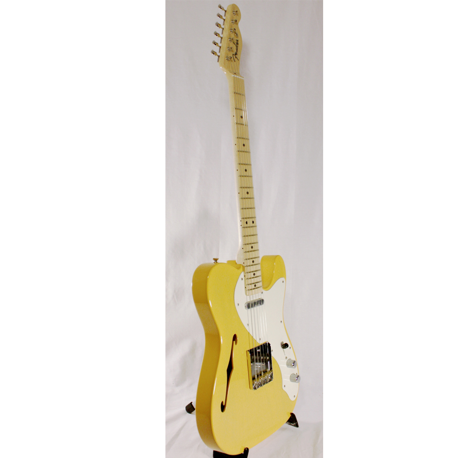 Fender Custom Shop 50's Thinline Telecaster NOS Nocaster Blonde Angled View