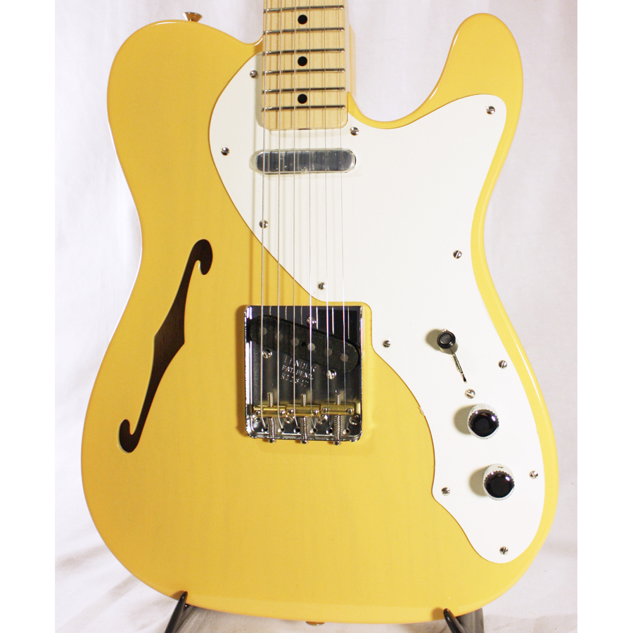 Fender Custom Shop 50's Thinline Telecaster NOS Nocaster Blonde Body Detail