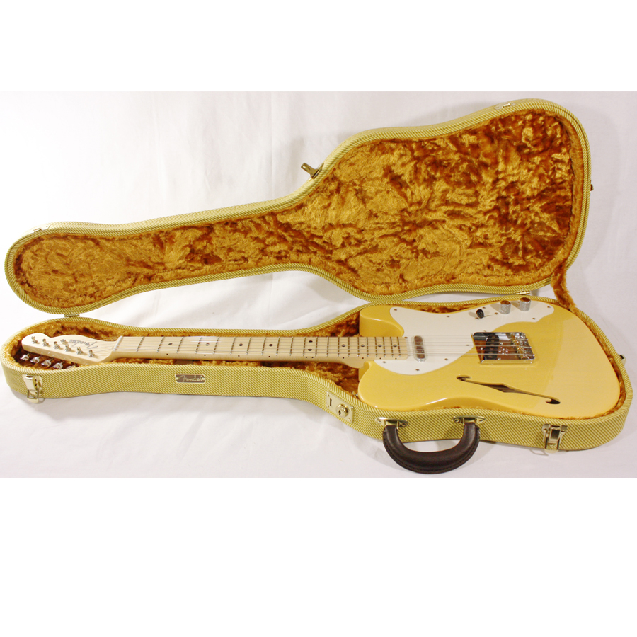 Fender Custom Shop 50's Thinline Telecaster NOS Nocaster Blonde Opened Case