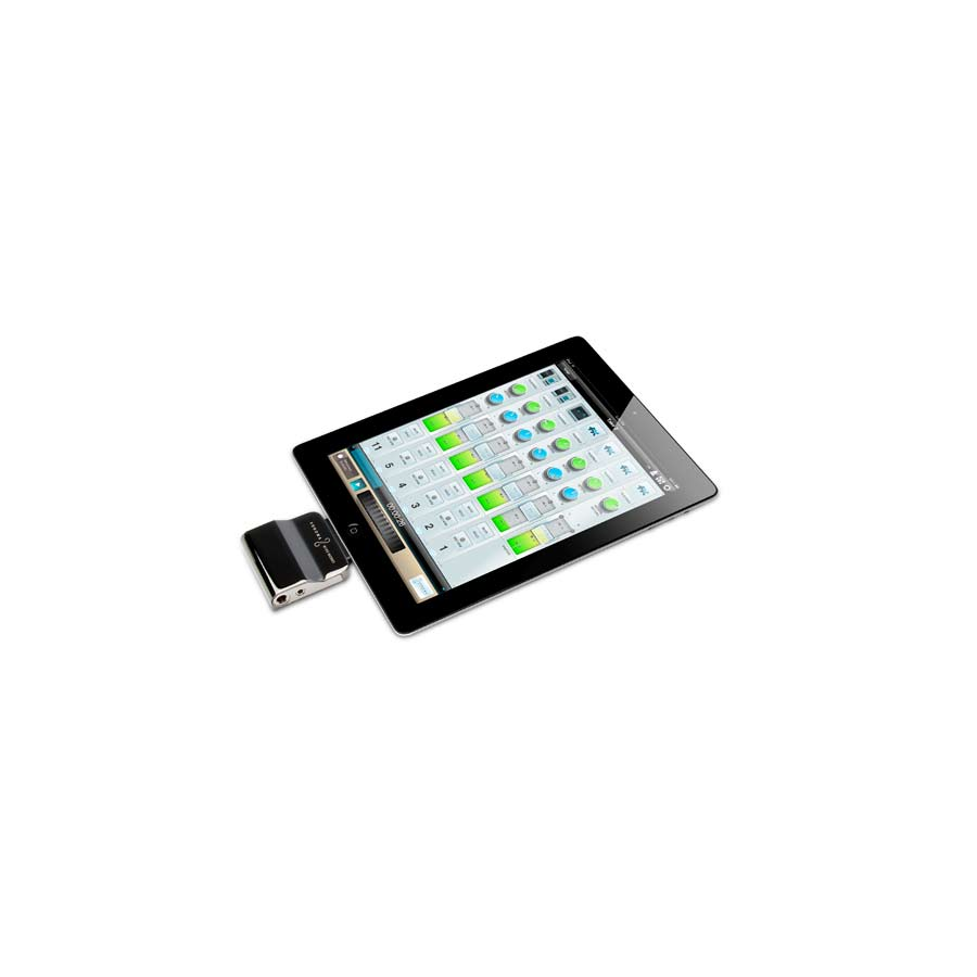 w/ iPad
