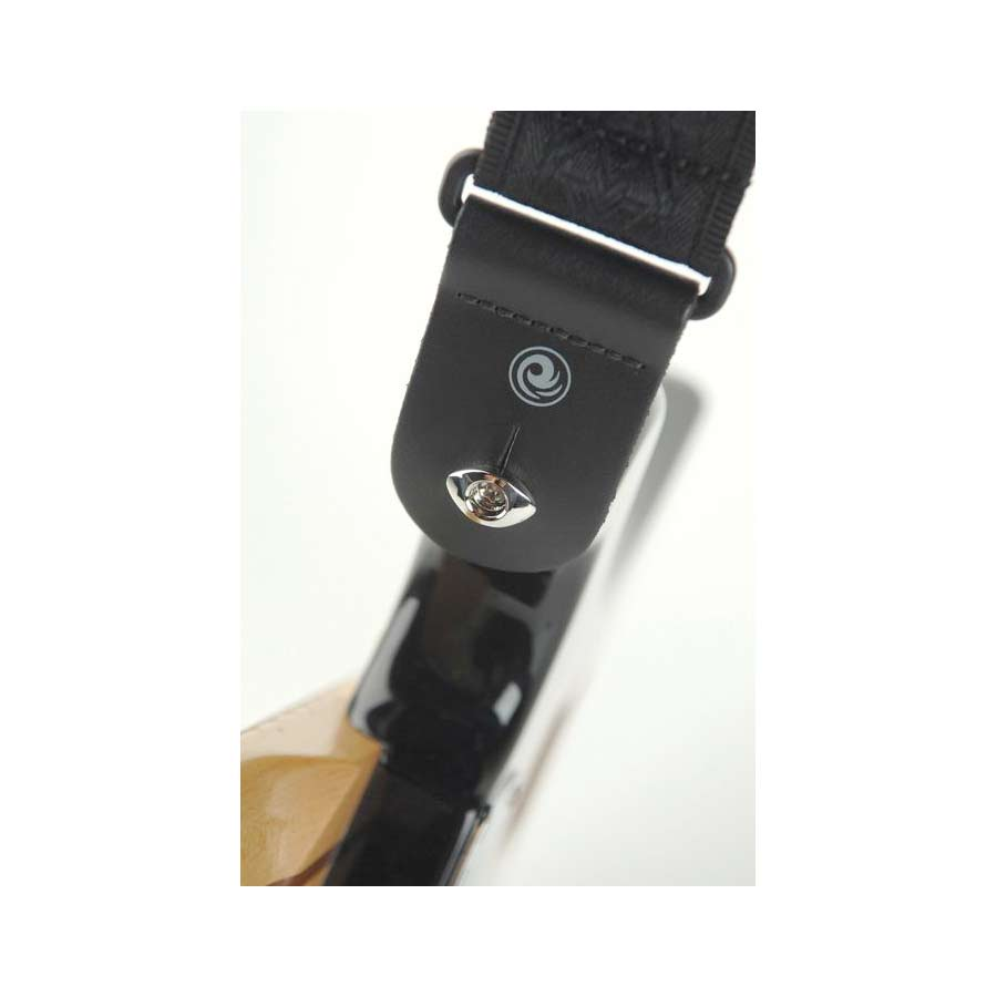 Planet Waves Elliptical End Pin Strap Button Black On Strap