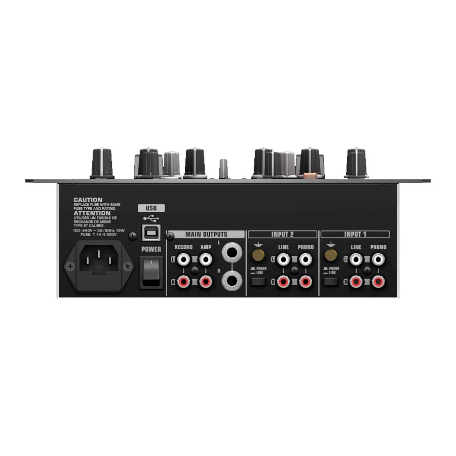 Behringer NOX202 Rear View
