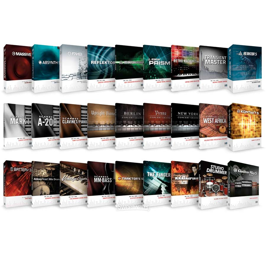 Native Instruments Komplete 8 EDU 5-Pack Included