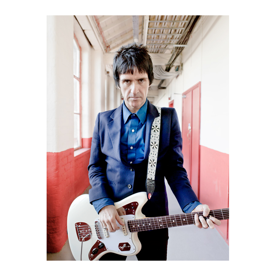 Fender Johnny Marr Jaguar® Olympic White Johnny Marr