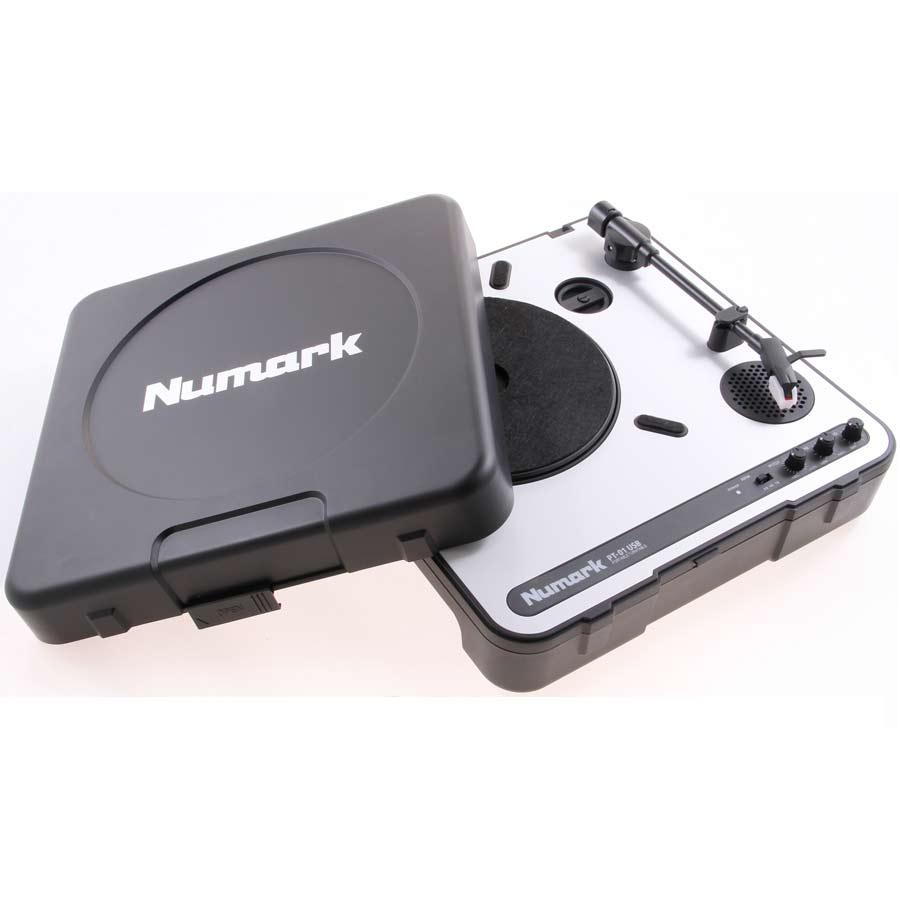 Numark PT-01USBW/ Case