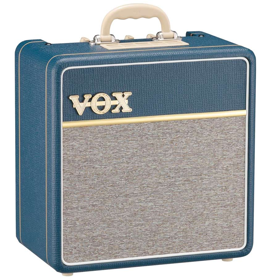 Vox AC4C1 Blue Angled View