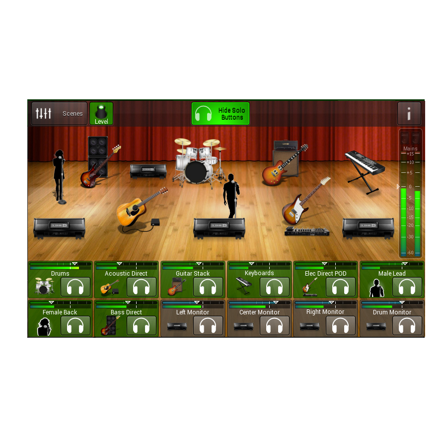 Line 6 StageScape M20d Screen View 1
